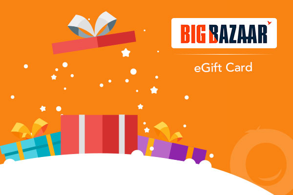 Big Bazaar Gift Voucher of Rs.2000 For Free
