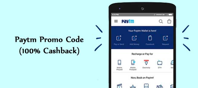 Paytm Promo Code & Recharge Offers – December 2019