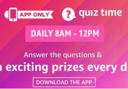 Amazon-Quiz-Contest-Answers