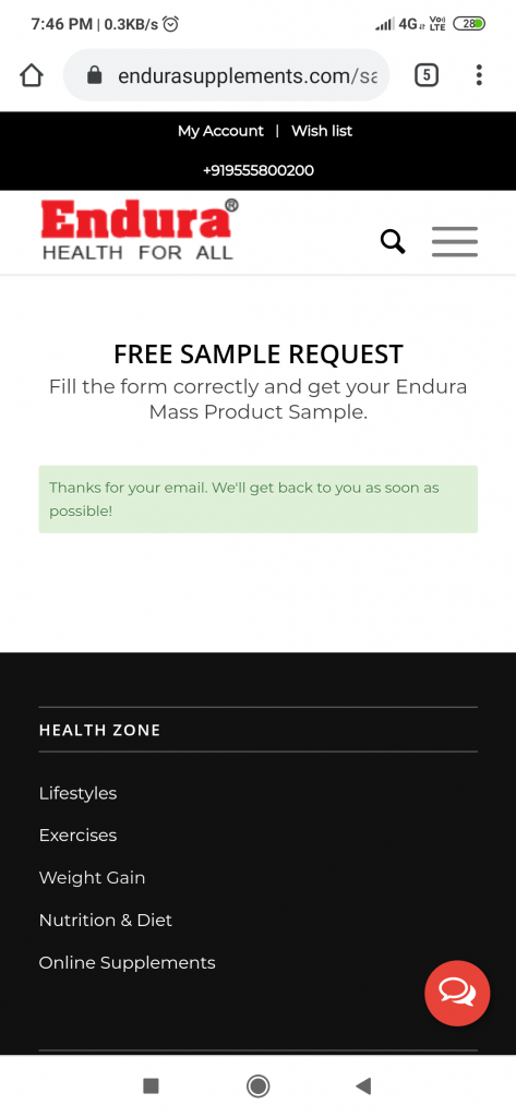 Request-for-endura-mass-sample