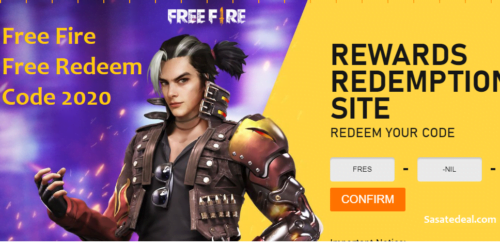 Free Fire Redeem Codes