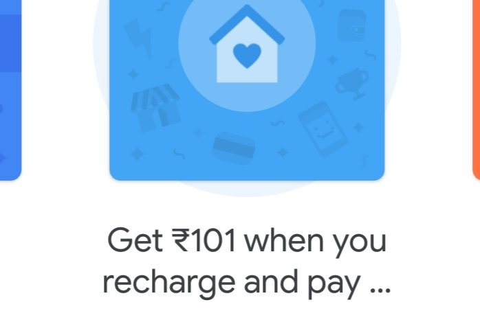 Google Pay Stay At Home Stamp Offer- Collect 3 Stamps Get Rs.101