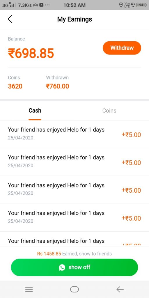 Helo Refer and Earn