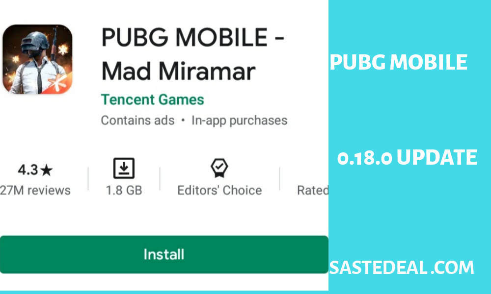 PUBG Mobile Patch Notes 0.18.0 Update – Royal Pass Season 13 Release