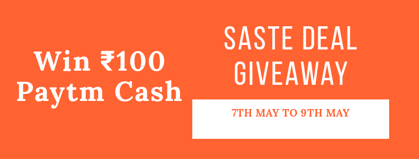 Saste Deal Giveaway