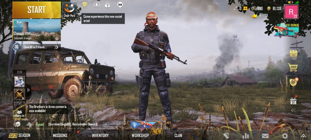 Get PUBG Operation Outfit For Free