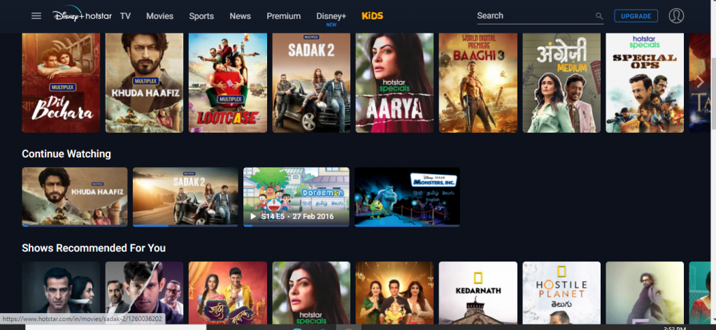 Hotstar Premium Account For Free 2021 Disney Hotstar Subscription