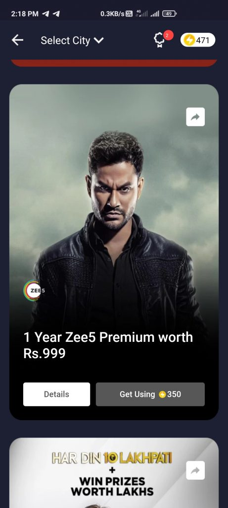 Free Zee6 On Flipkart Method