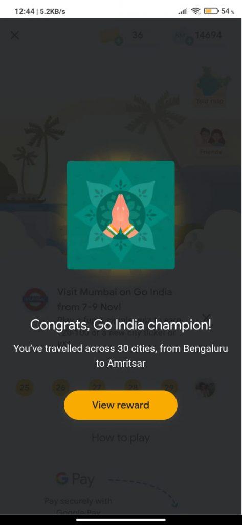 Ticks To Get Google Pay Go India Tickets