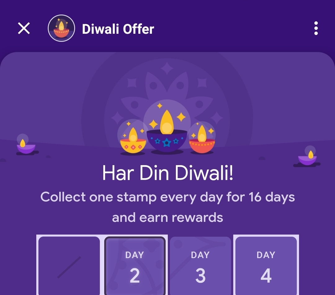 Google Pay Merchant Diwali Offer