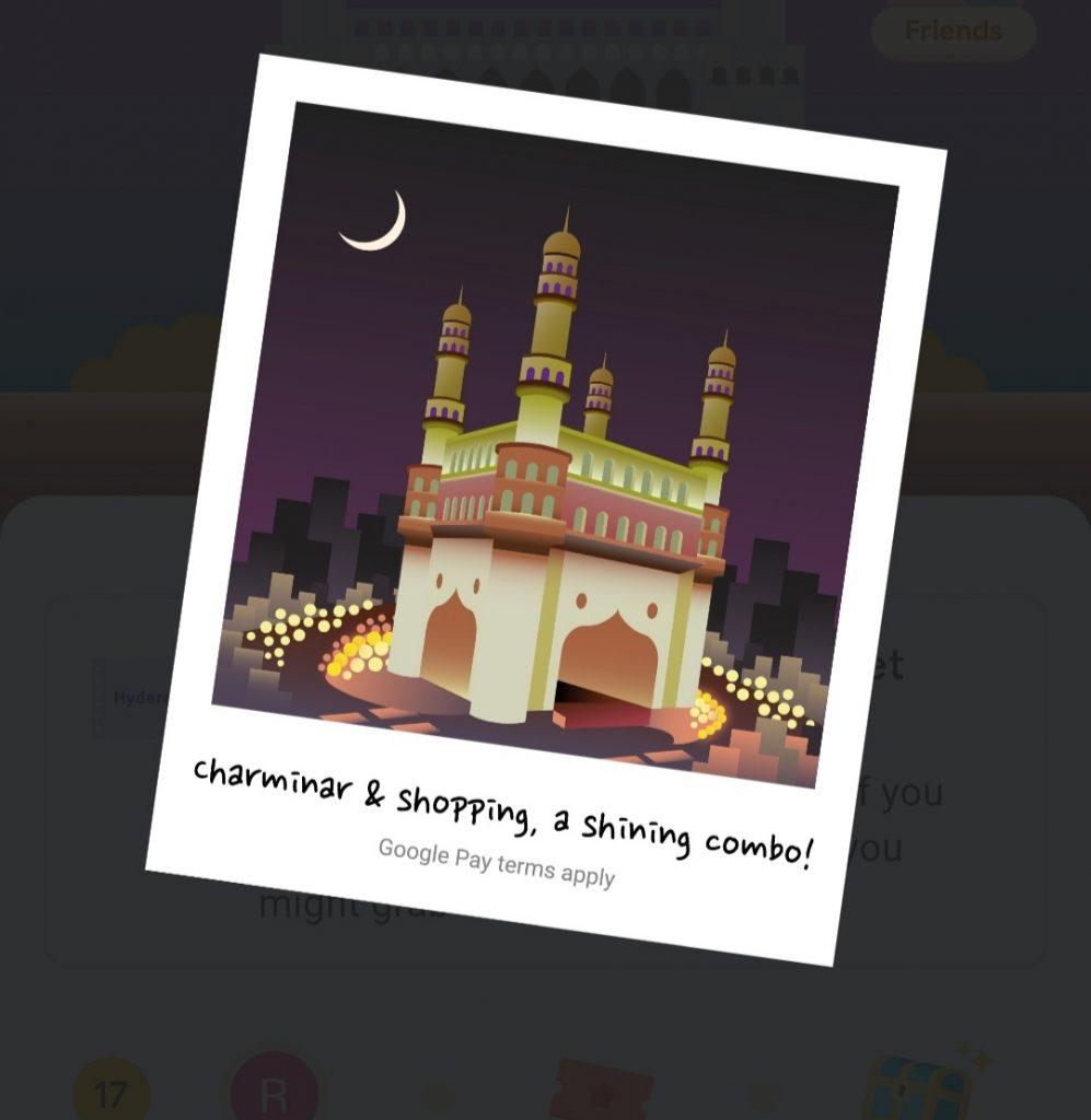 Google Pay Hyderabad Quiz Answers