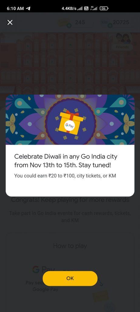 Google Pay Go India Diwali Event