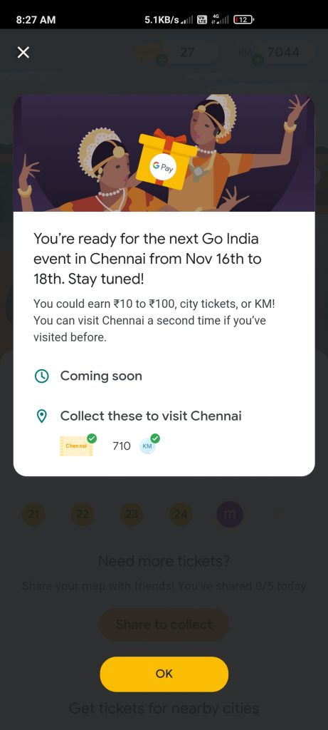 Google Pay Go India Chennai Event Quiz Answers