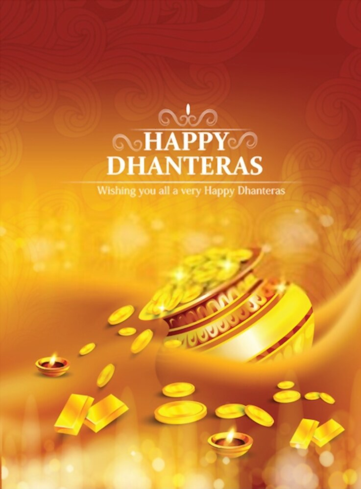 Happy Dhanteras Wishing Images 2020