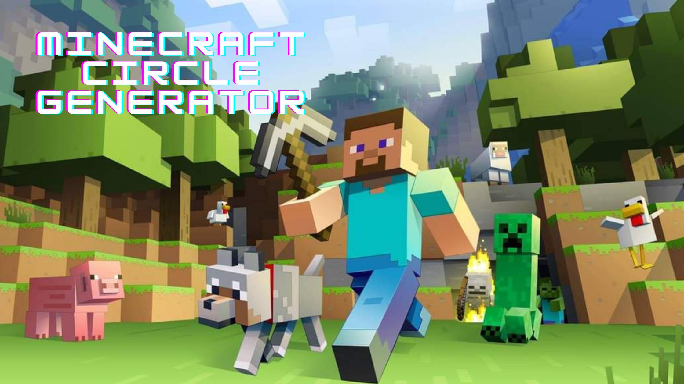 Minecraft Circle Generator