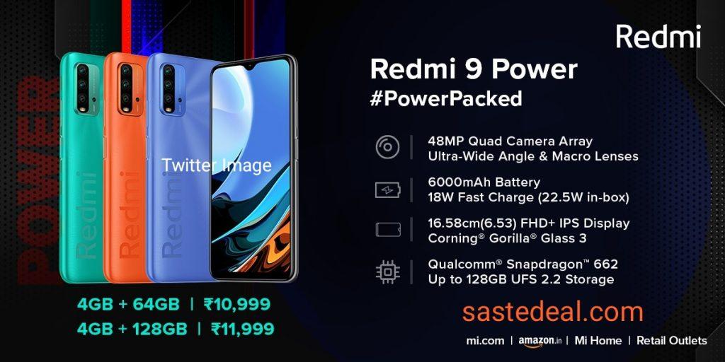 Redmi 9 Power Flash Sale