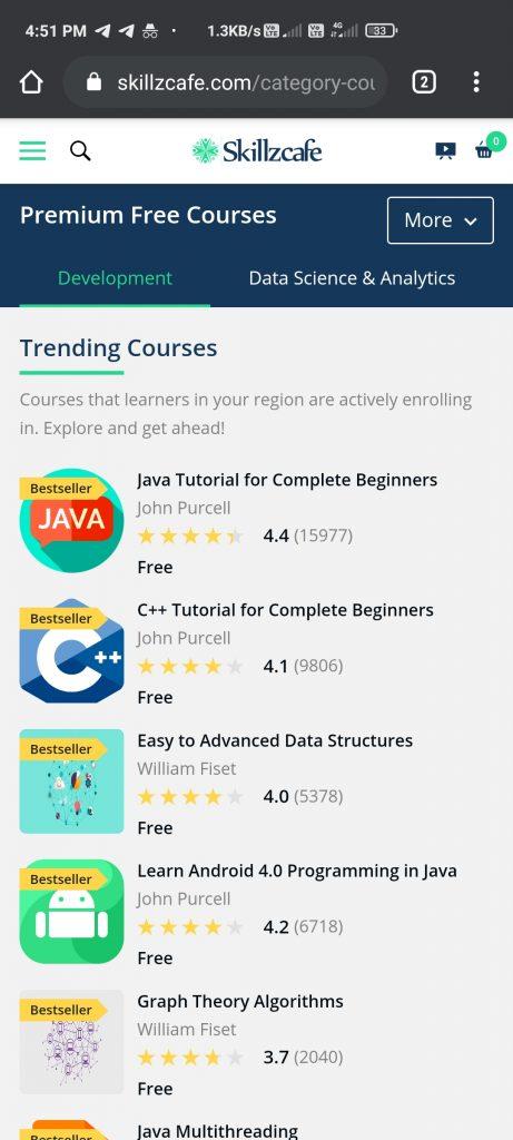 Skillzcafe Premium Courses For Free