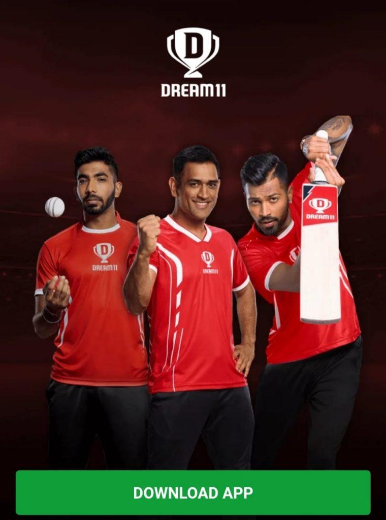 Dream11 Top 1 Cricket Fantasy In India