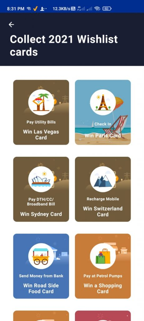 How To Collect Paytm 2021 Wishlist Cards