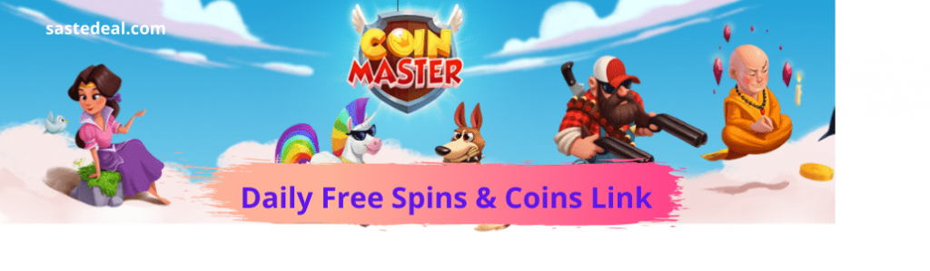Coins Master Daily Links For Spins & Coins