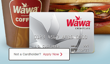 Wawa Credit Card Login Procedure