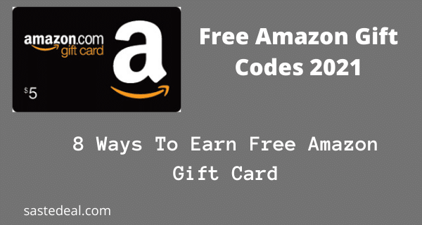 Amazon Free Gift Card Codes