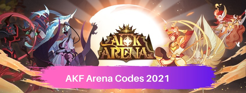 AKF Arena Redemption Codes