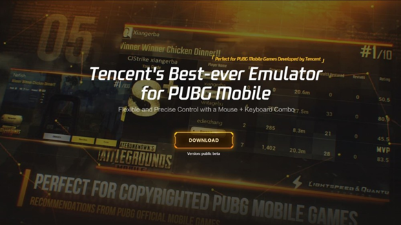 Tencent Gaming Buddy Or GameLoop 3.2 Download
