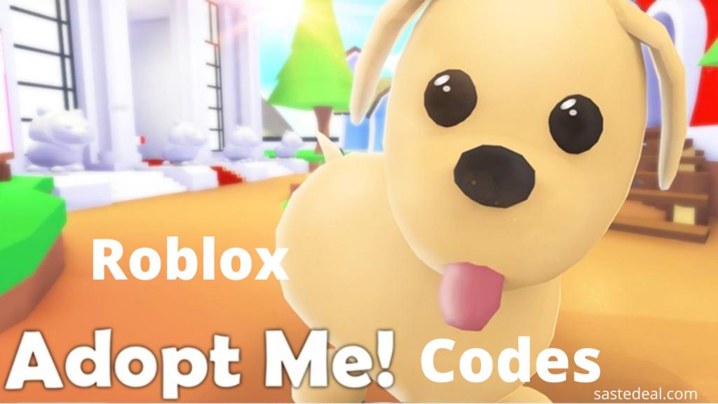 Roblox Adopt Me Codes