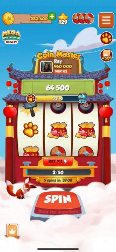 Coin Master Hourly Rewards For Free Spins & Coins