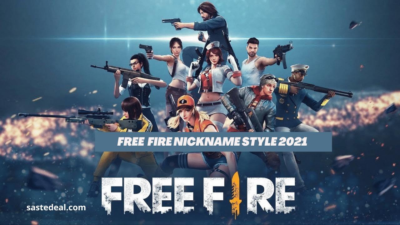 Free Fire nickname