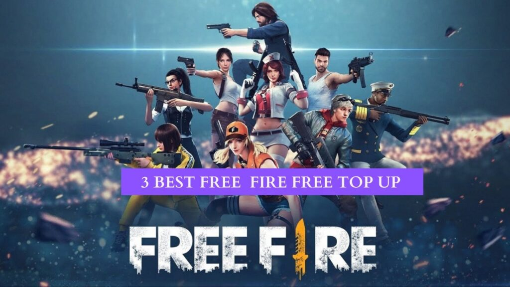 How To Get  Free Fire Diamonds Top Up For Free