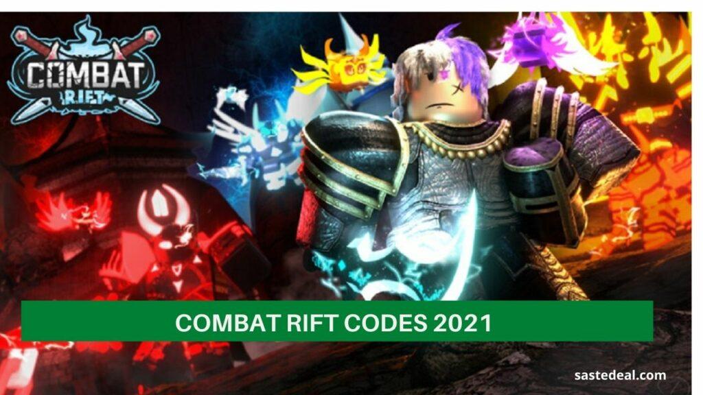 Roblox Combat Rift Codes 2021