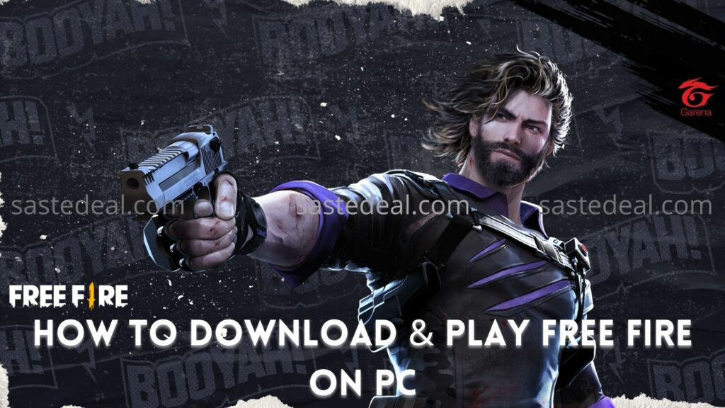 Download & Play Free Fire On PC - Windows and Mac