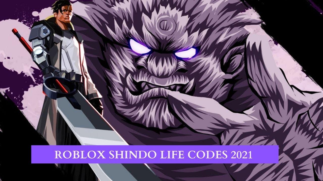 Roblox Shindo Life Redeem Codes 2021