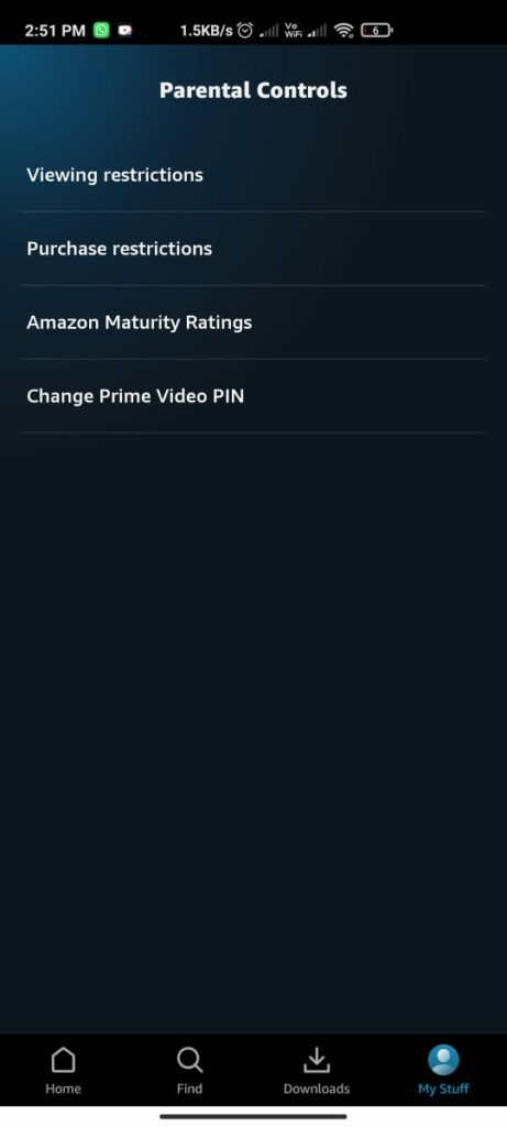How To Turn On Parental Controls On Prime Video