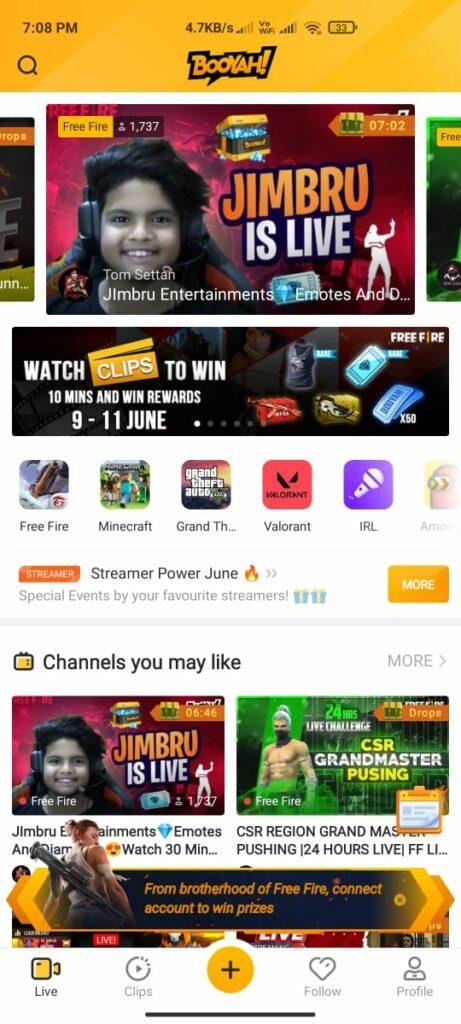 Booyah App Features