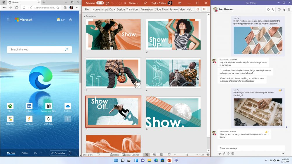 Perform Multi Tasks on Windows 11
