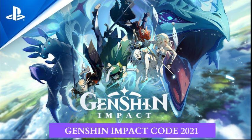 Genshin Impact Redeem Codes 2021