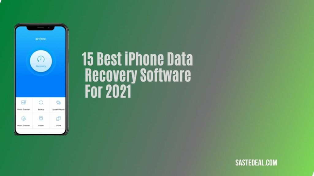 Best iPhone Free Data Recovery Software 2021
