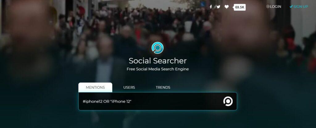 Social Media Search Engine