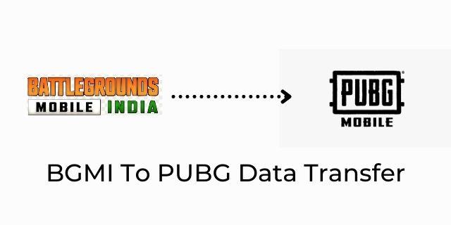 Transfer Data PUBG To BGMI