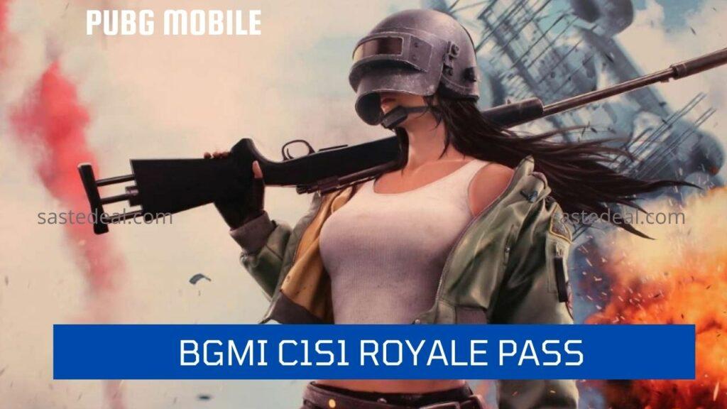 PUBG & BGMI C1S1 Royale Pass