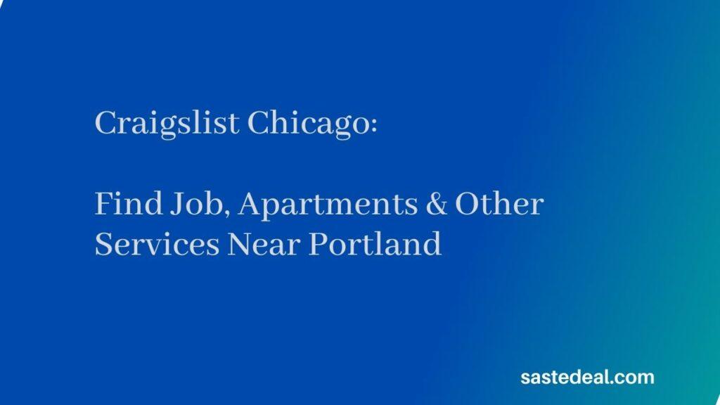 Craigslist Chicago