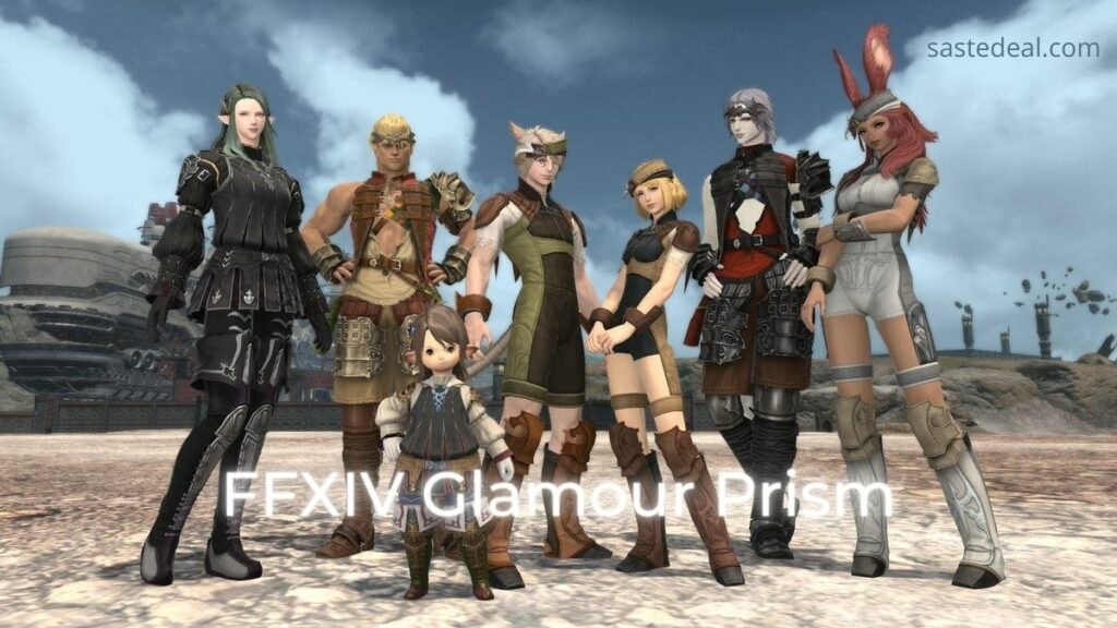 How to Unlock glamour in Final Fantasy XIV