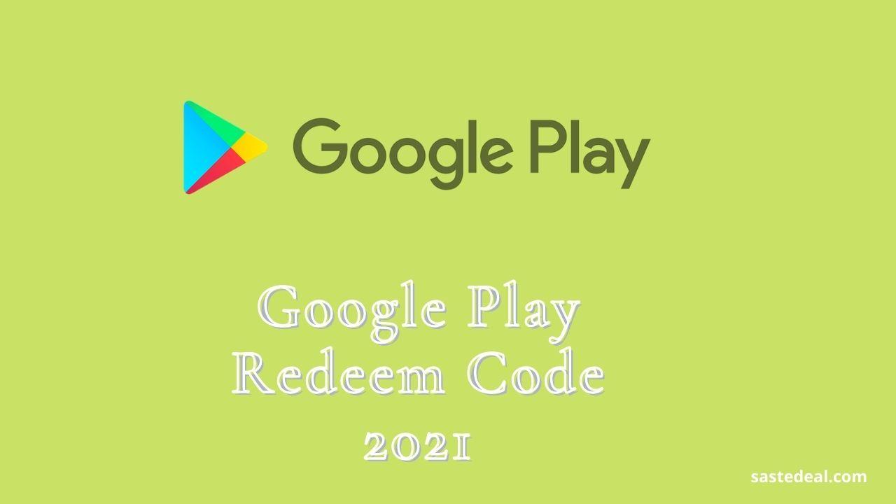 Free Google Play Gift Card Hack 2021