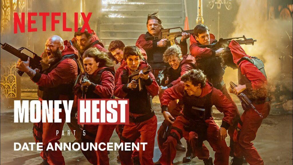 How To watch Money Heist Season 5 Volume 1 Free On Netflix
