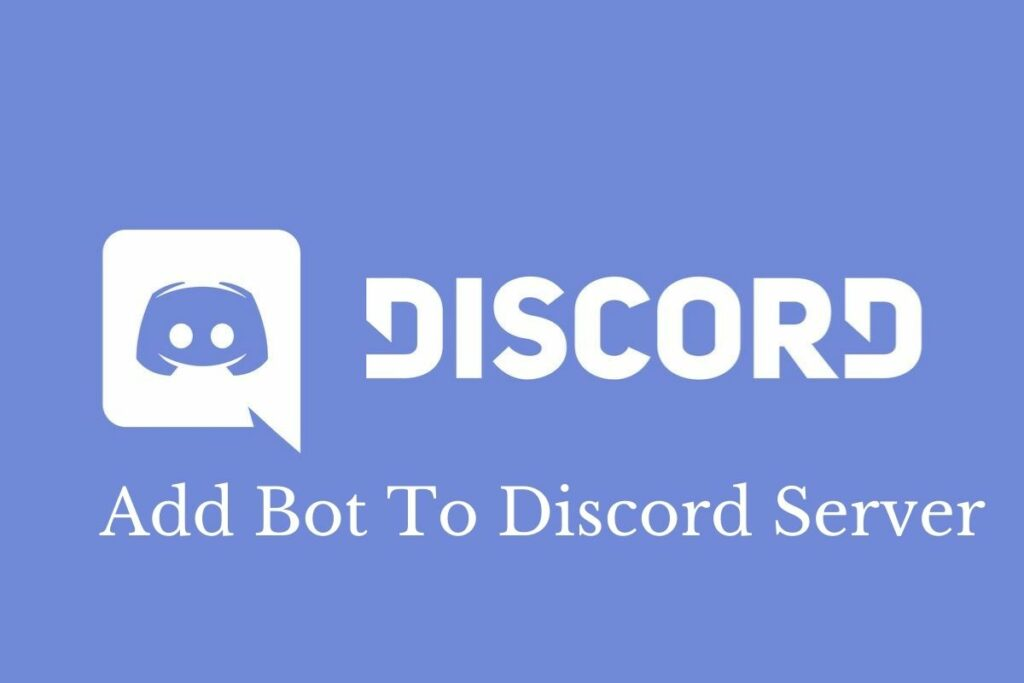 Add Bot To Discord