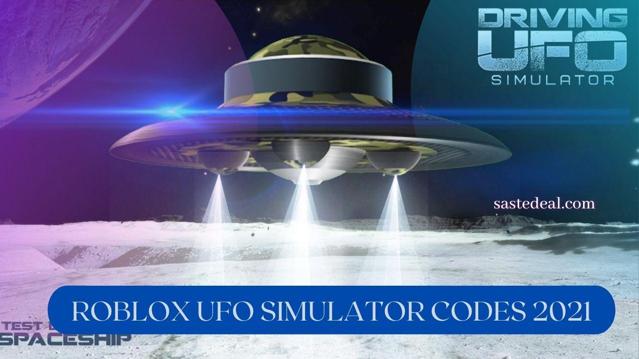 Roblox UFO Simulator Code