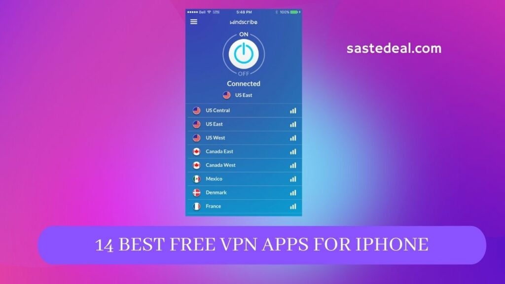 14 Best Free VPN Apps For iPhone & iPad